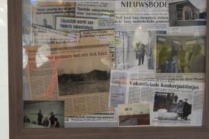 oude krantenknipsels, historie